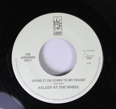 Asleep at the Wheel - Bring It Down to My House