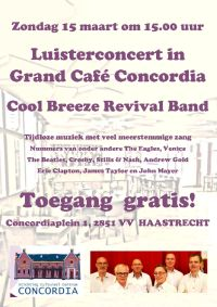 The Coole Breeze Revival Band at Concordia Haastrecht