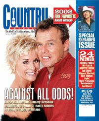 Sammy Kershaw and Lorrie Morgan in better days