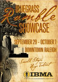 IBMA Bluegrass Showcase Ramble 2015