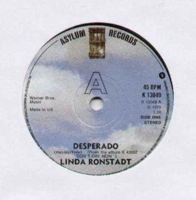 Linda Ronstadt - Desperado uit 1973