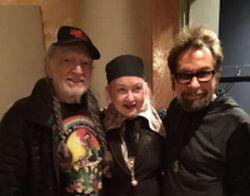 Cyndi Lauper, Willie Nelson & Tony Brown
