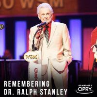 Ralph Stanley at the Grand Ole Opry