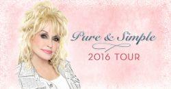 Dolly Parton - Pure & Simple Tour