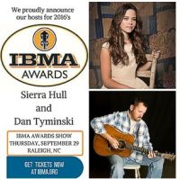 Sierra Hull and Dan Tyminski - Hosts IBMA Award Show