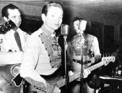 Willie Nelson as bass player The Cherokee Cowboys