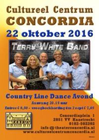 Terry White Band in Concordia Haastrecht
