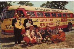 Lester Flatt & Earl Scruggs and the Foffgy Mountain Boys on tour