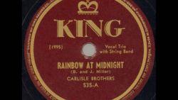 The Carlisle brothers - Rainbow at Midnight